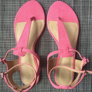 Zara pink lady's sandal